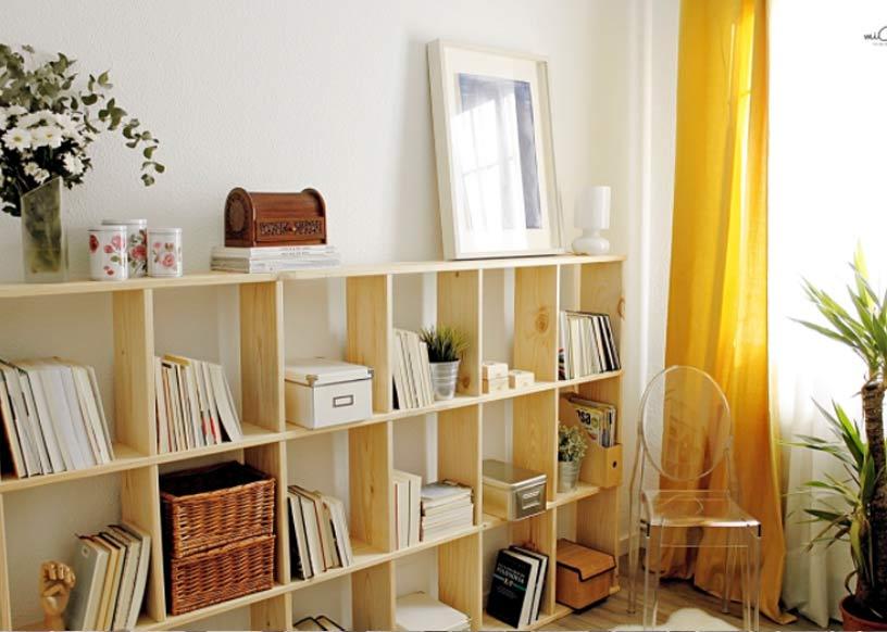 Estanterías modernas para libros en salón o sala a un precio barato
