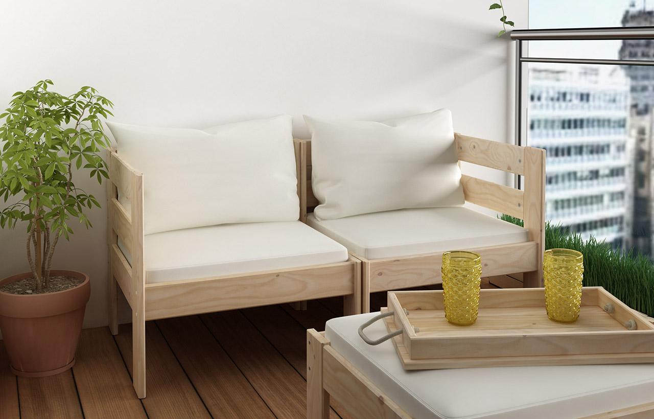 Muebles de terraza económicos