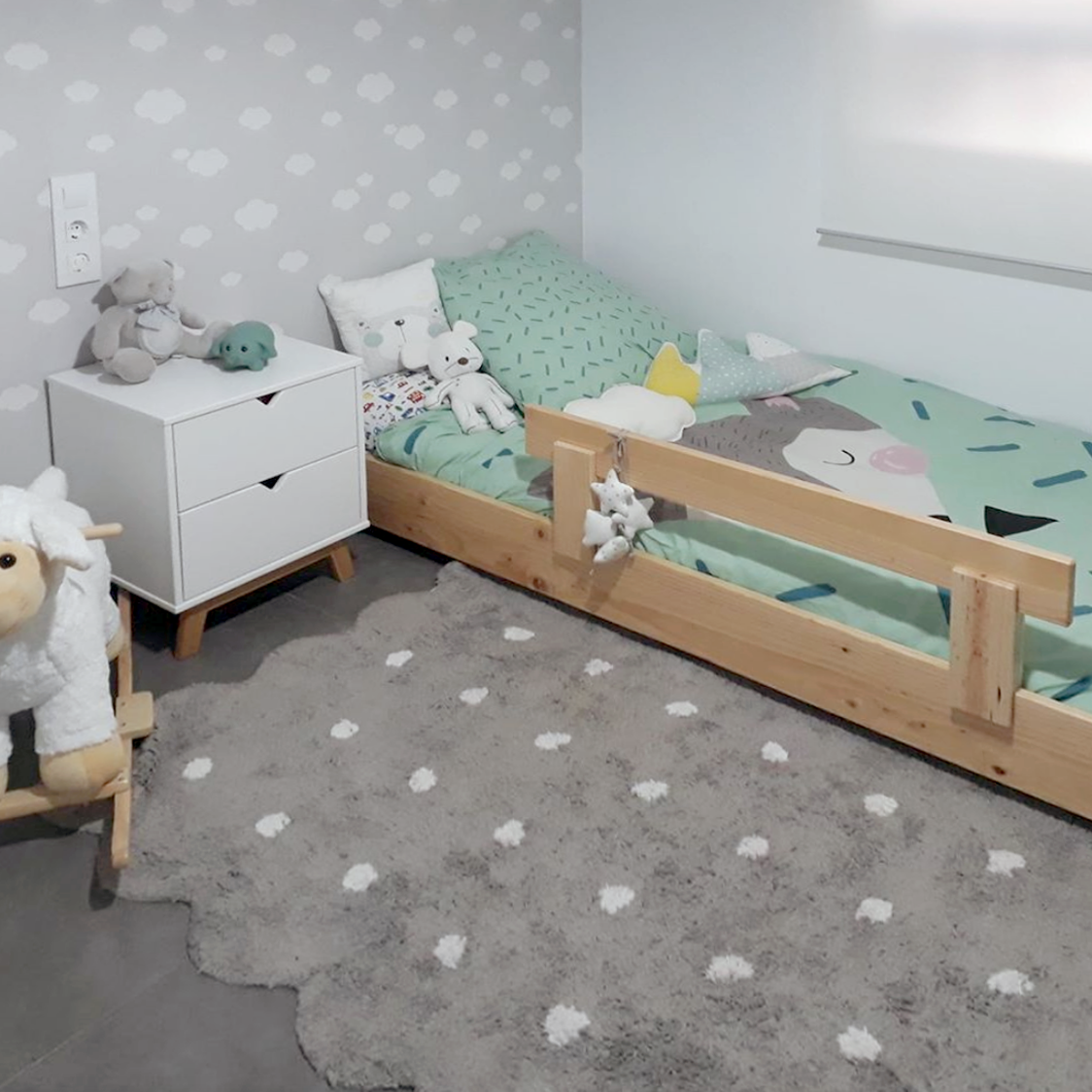 barreras para cama infantil