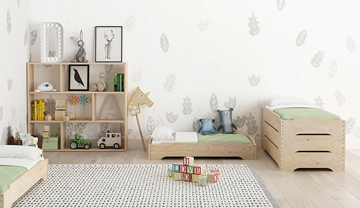 habitaciones infantiles fotos Muebles Econmicos Infantiles De Madera