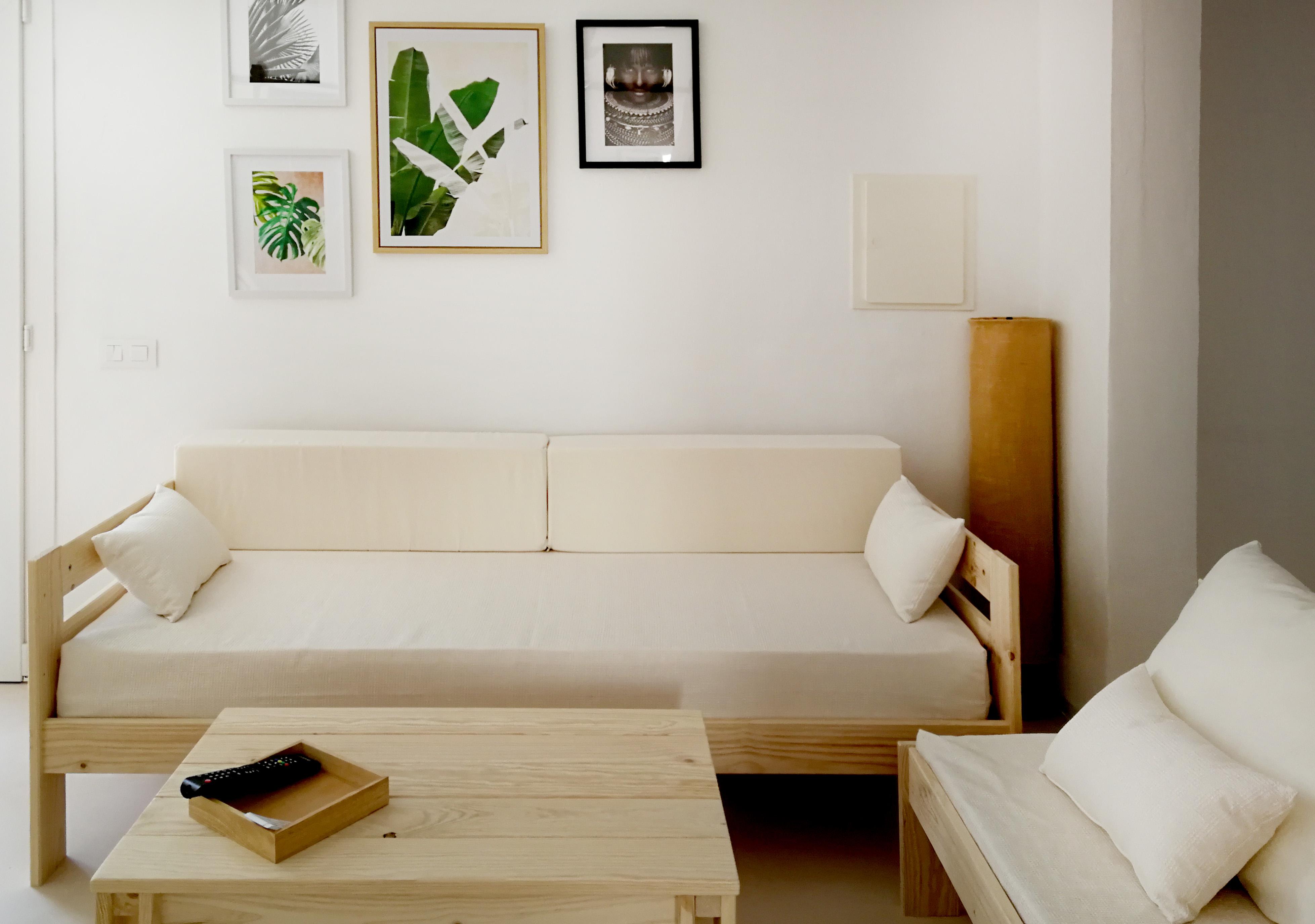 Muebles baratos para alojamientos turísticos.