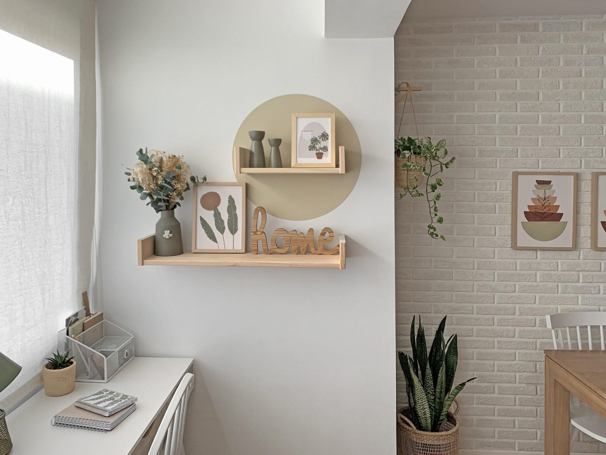 Cómo decorar las paredes de tu hogar con madera de verdad