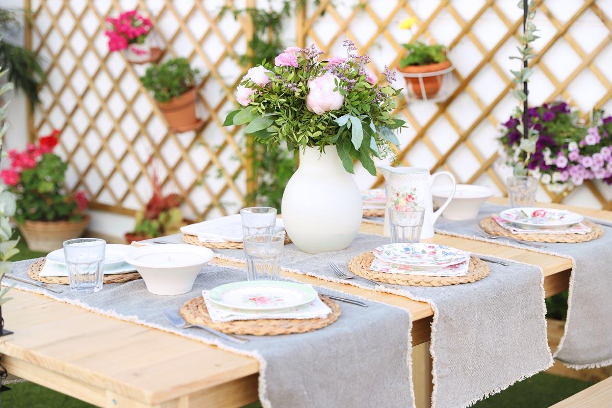 Mesa de comedor para exterior