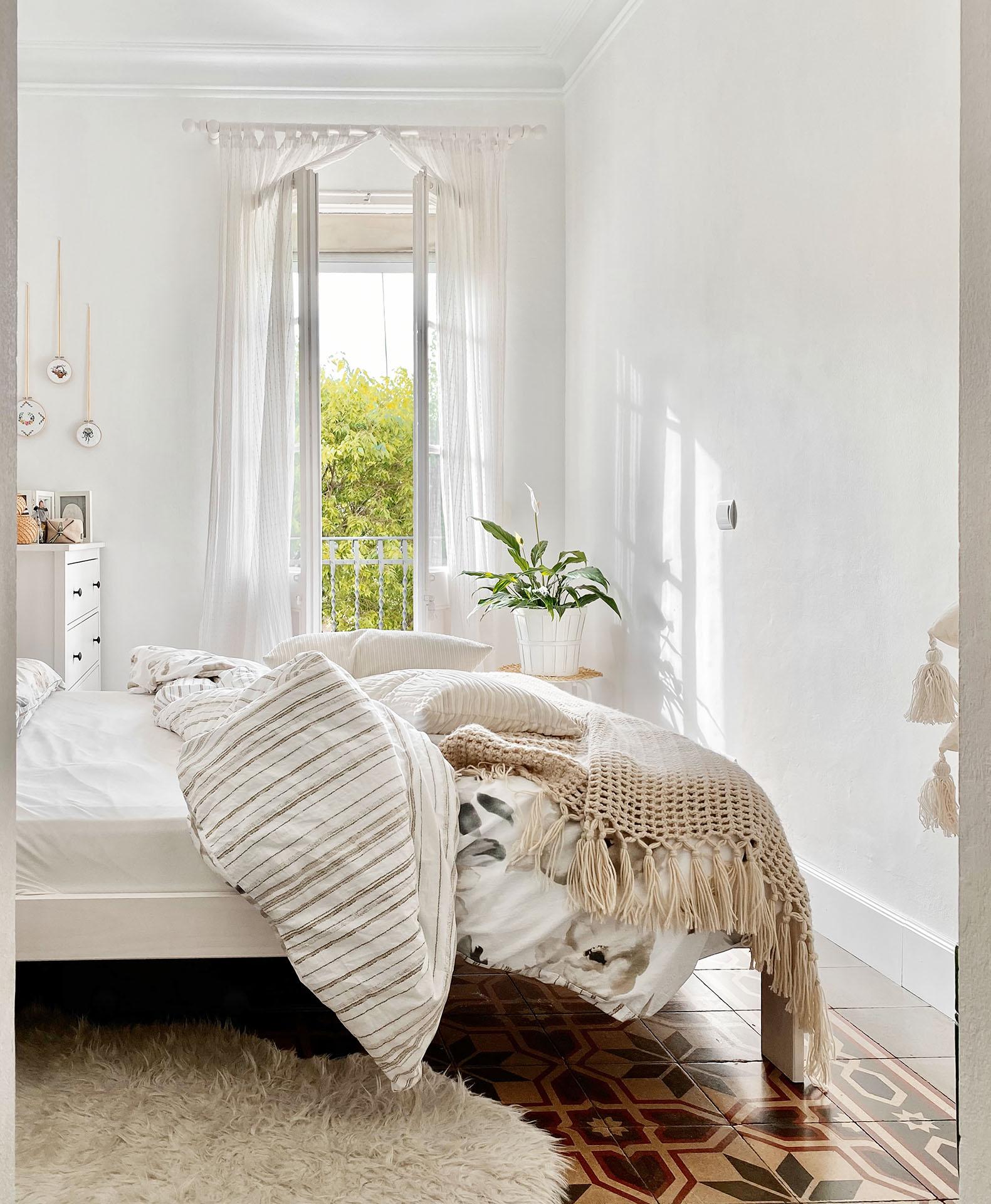 cama de matrimonio de madera